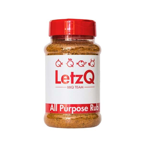 Image de LETZQ ALL PURPOSE RUB - POT 350 GRAM