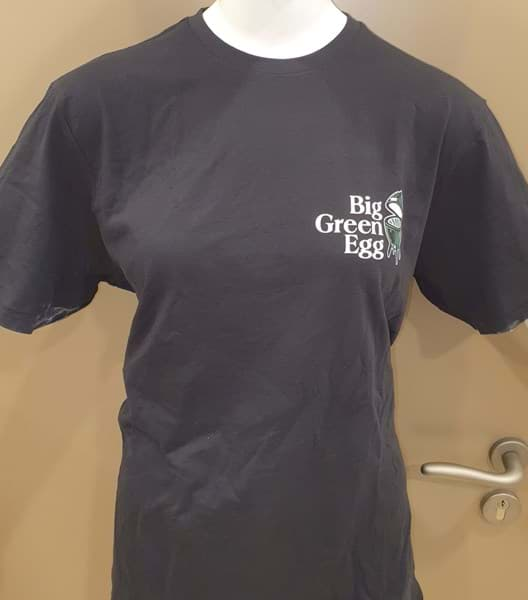 Immagine di BIG GREEN EGG T-SHIRT ZWART - MEN - XXL